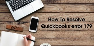 How To Resolve Quickbooks error 179 1